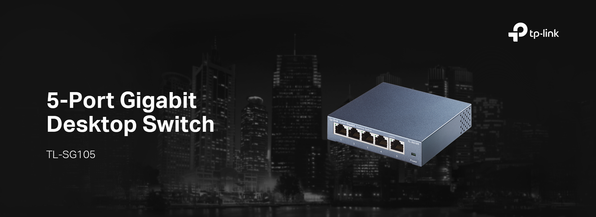 TL-SG105: 5-Port Gigabit Desktop Switch