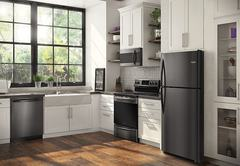 Frigidaire Gallery Electric Freestanding Range: FGEF3036TD in kitchen vignette