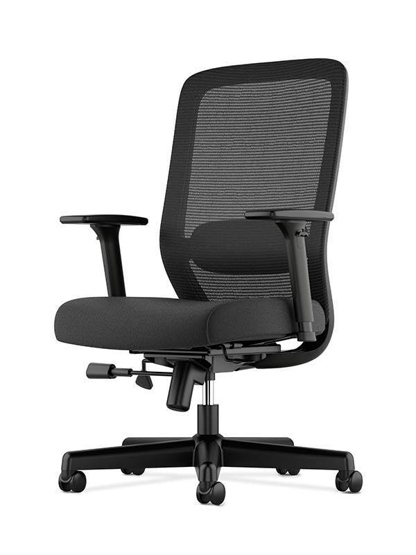 basyx by hon vl721 mesh high back chair black by office depot