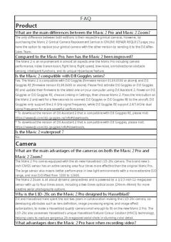 View Mavic 2 FAQ PDF