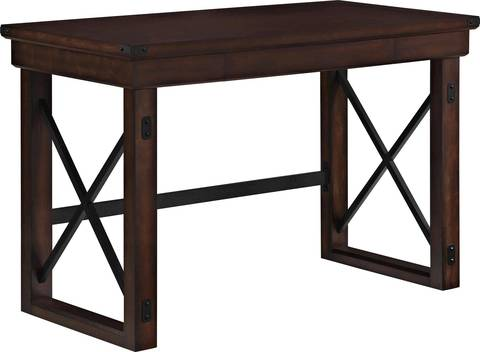 Better Homes And Gardens Preston Park Desk, Dark Oak