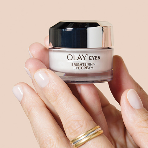 Olay Eyes Brightening Eye Cream For Dark Circles 0 5 Oz With