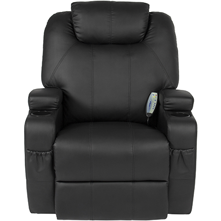 Massages Four Areas  sc 1 st  Walmart & Best Choice Products Executive Swivel Massage Recliner w/ Control ... islam-shia.org