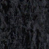 Ebony Crushed Velvet