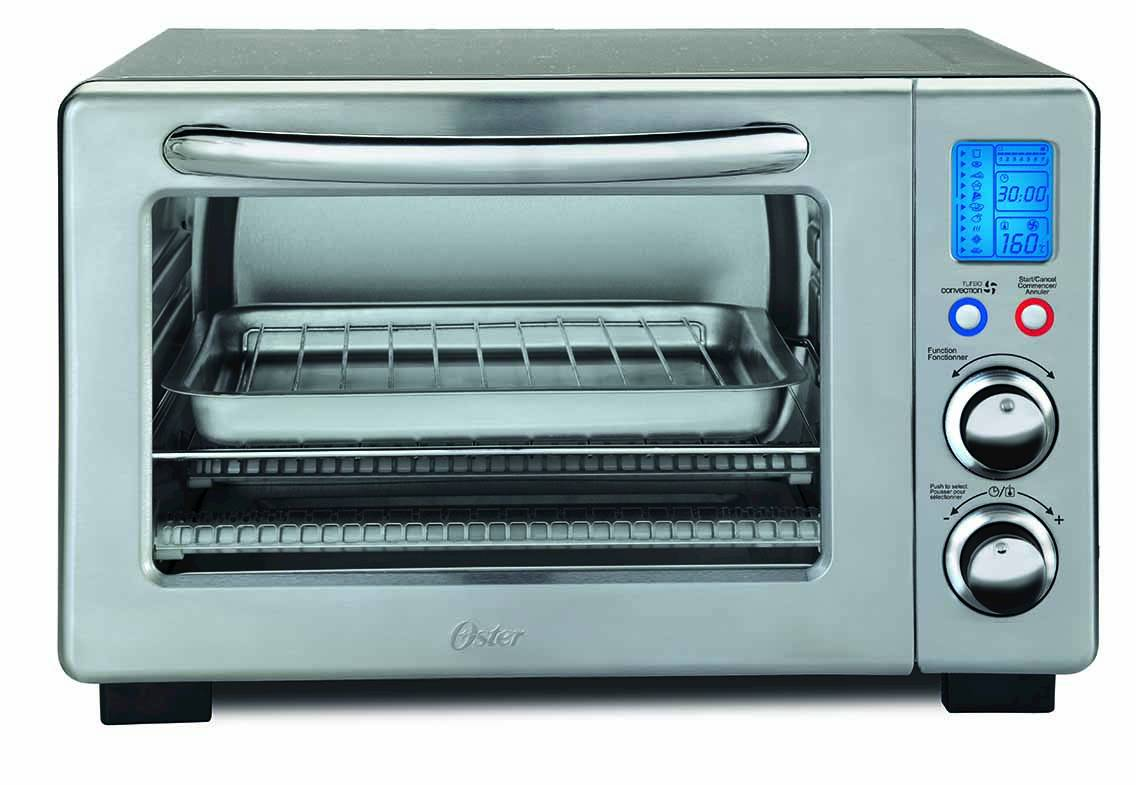 Oster® 6-Slice Digital Countertop Oven with Convection, Stainless ...