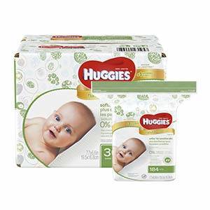 Huggies Natural Care Baby Wipes Unscented 168 Ct 3 Pk Target