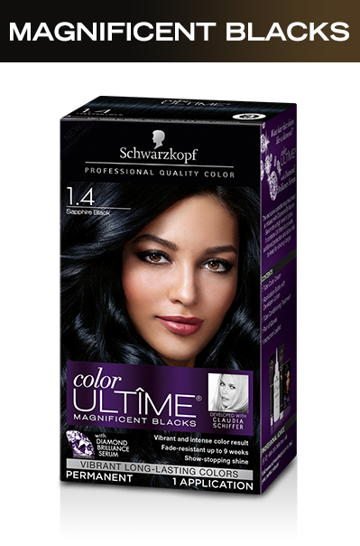 0f5ddbbc5842a2 Schwarzkopf Color Ultime Magnificent Blacks Hair Coloring Kit, 3.3 ...