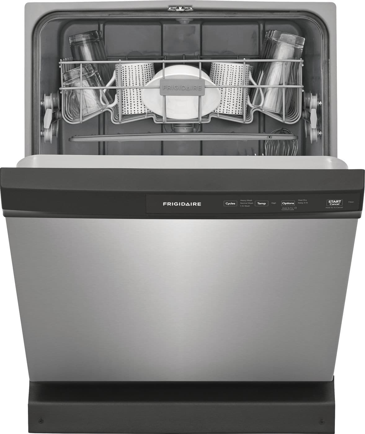 Frigidaire 60-Decibel Built-In Dishwasher (Stainless Steel