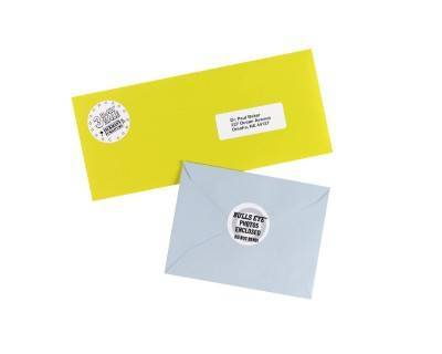 Avery High Visibility Print To The Edge Permanent Laser Labels 5293 ...