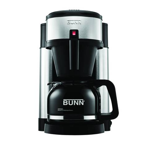 bunn nhs velocity brew 10cup coffee brewer in black bed bath u0026 beyond - Bunn Commercial Coffee Maker