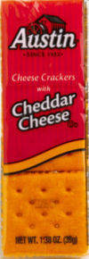 Image result for austin cheese crackers with cheddar cheese