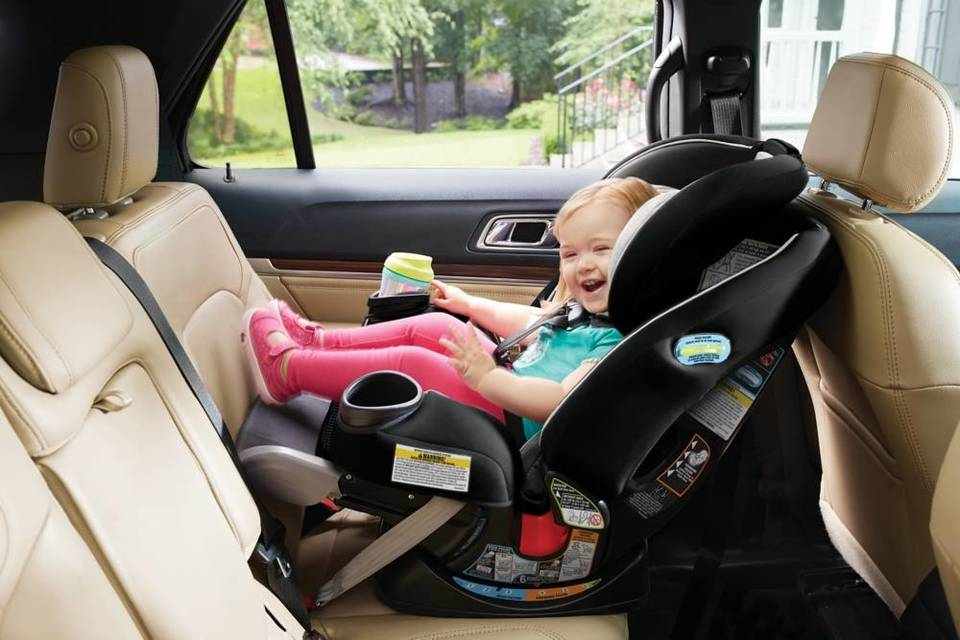 The GracoR 4EverTM Extend2fitTM All In One Convertible Car Seat Provides 5 Of Extra Legroom To Keep Your Growing Child Rear Facing Comfortably And Safely