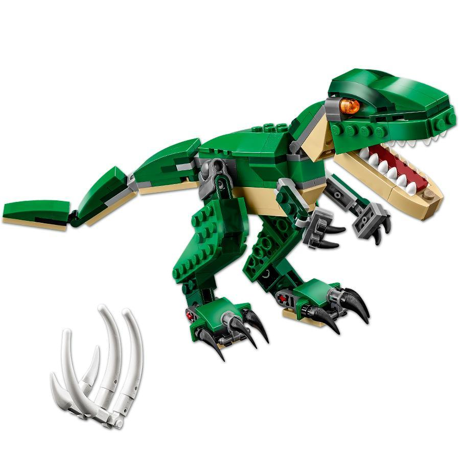 LEGO 31058 Creator Mighty Dinosaurs Toy 3 in 1 Model Triceratops and Dinosaur