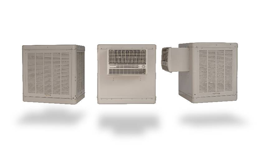 Essick Air 600-sq ft Window Evaporative Cooler (2800-CFM) at