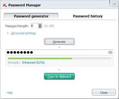 Password Manager: Password Generator
