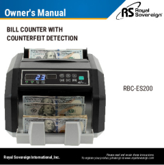 View RBC-ES200 Owner's Manual PDF