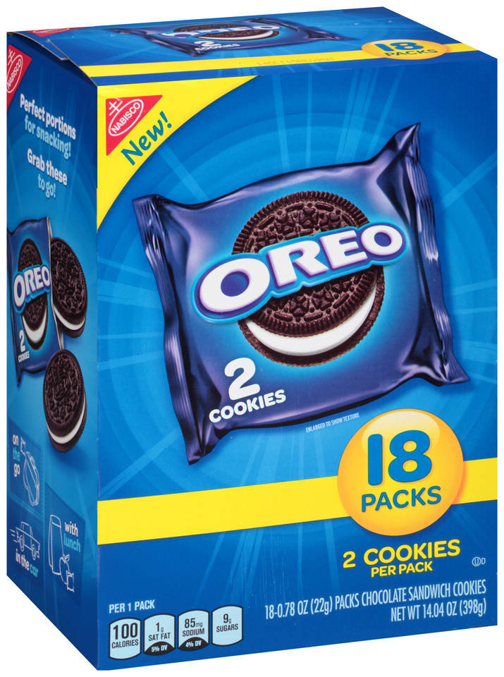 Nabisco Oreo Chocolate Sandwich Cookies 143 Oz