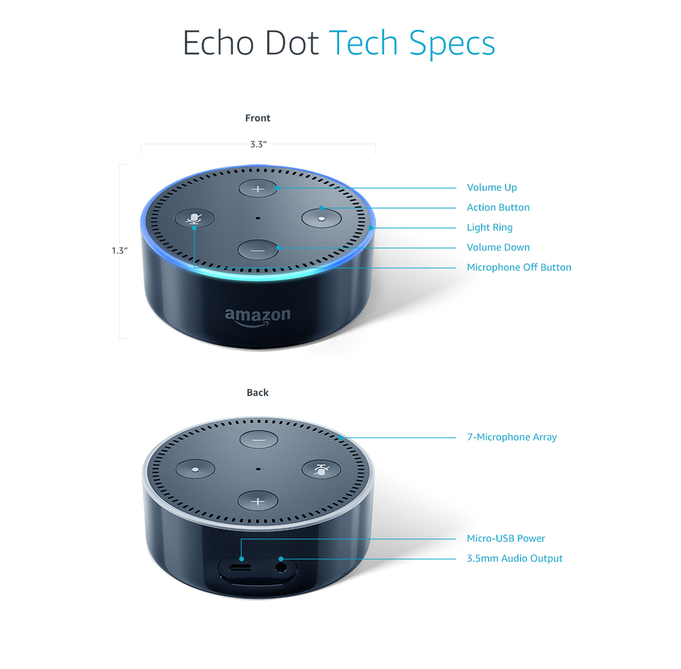 Amazon Echo Dot Target