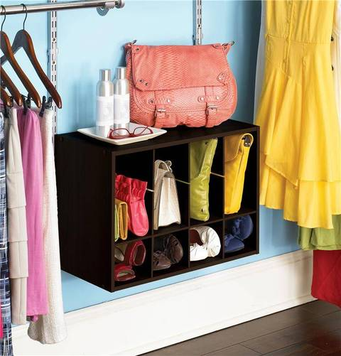 expand the storage potential of your closet with the rubbermaid shoe cube it holds up to 12 pairs of shoes and is compatible with any rubbermaid homefree