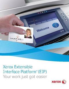 View Brochure - Xerox Extensible Interface Platform - EIP (PDF) PDF