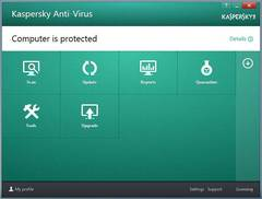 Easy Access to Anti-Virus Features