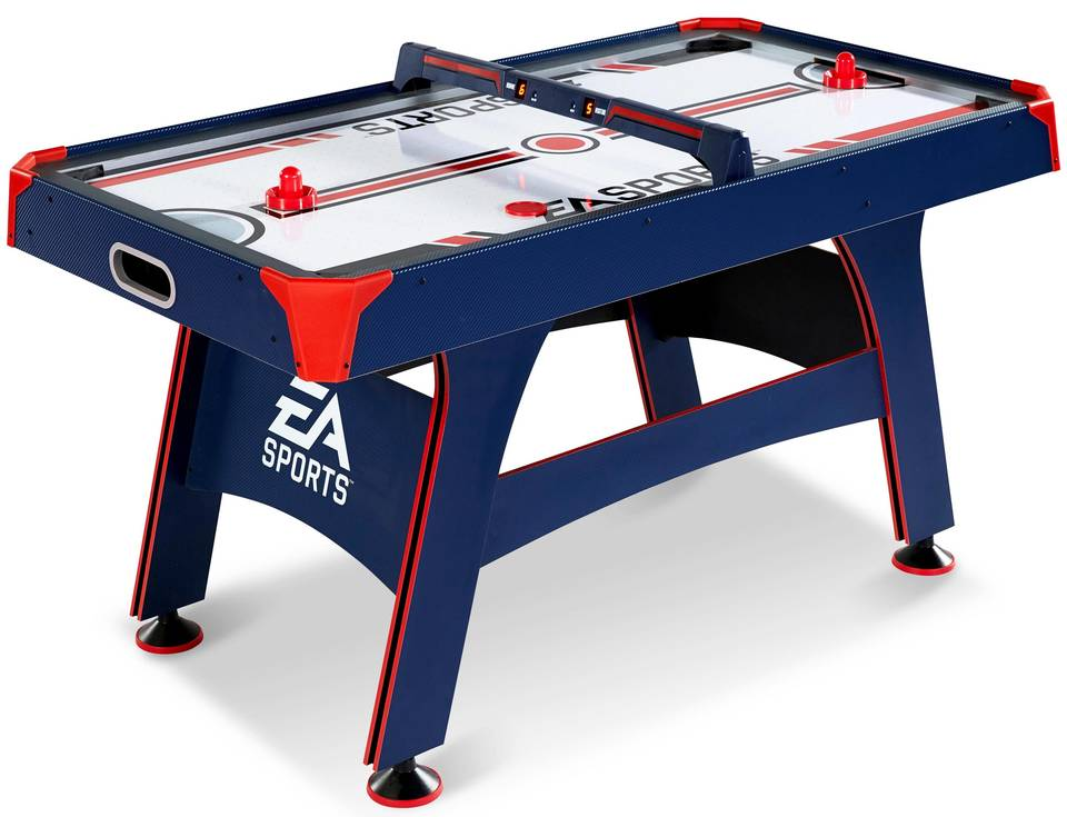 Ea sports 60 inch air powered hockey table with overhead electronic air powered hockey table with overhead electronic scorer greentooth