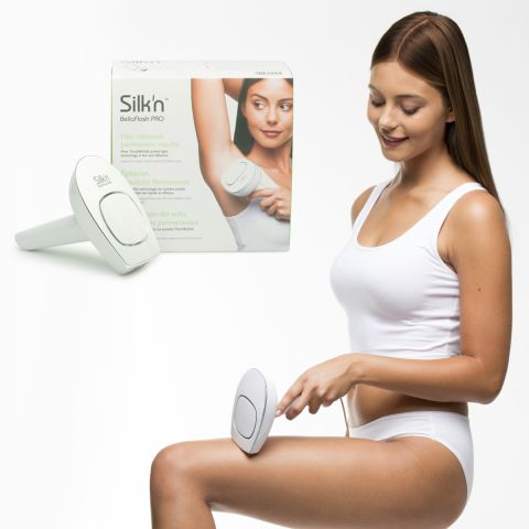 Silk N Bellaflash Pro Touch Glide Hpl Technology Hair Removal Device