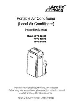 Arctic King Air Conditioner Manual Pdf