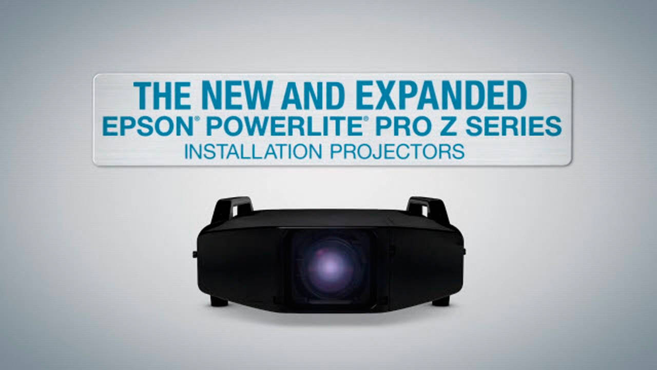 EPSON Pro Z Series Projector Line Overview