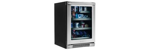 "24"" Under Counter Beverage Center with Left Hand Door Swing"