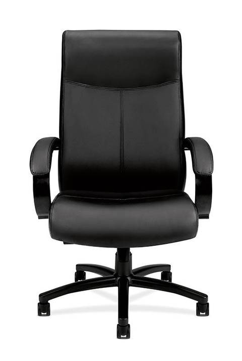 basyxhon big tall leather high back chair blackoffice