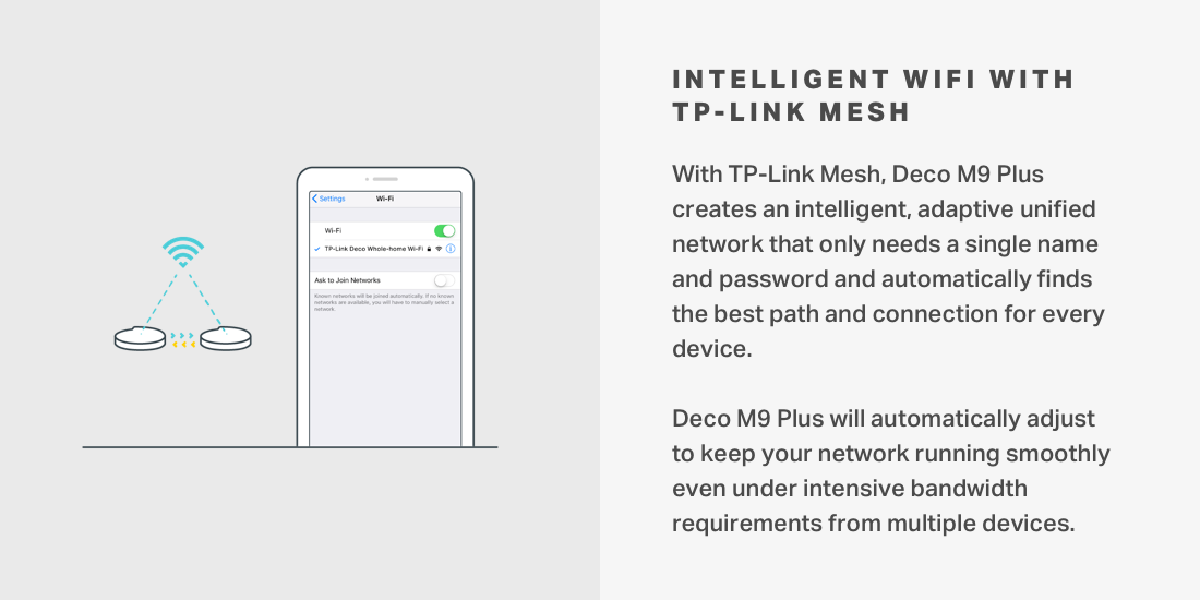 TP-Link Mesh network that only needs single name and password