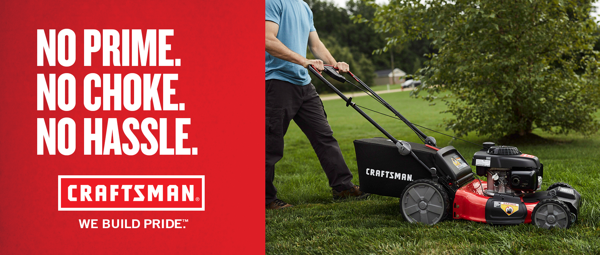 CRAFTSMAN M250 160-cc 21-in Self-propelled Gas Lawn Mower