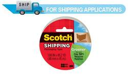 3750G Scotch® Greener Commercial Grade Packaging Tape