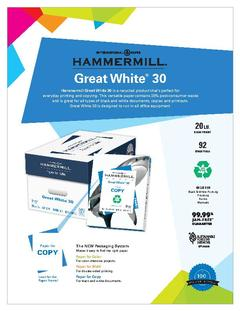 View Great White 30 Product Sheet PDF
