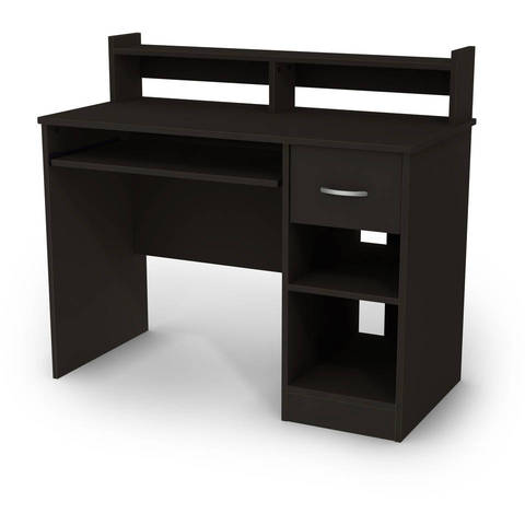 Small Desk Beauteous South Shore Smart Basics Small Desk Multiple Finishes  Walmart Review