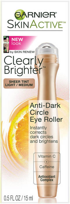 Eye Roller Anti-Puff Clearly Brighter Refresher Vitamin C 0.5 fl.oz. by Garnier Desert Essence Thoroughly Clean Oil Control Lotion - 4 fl oz