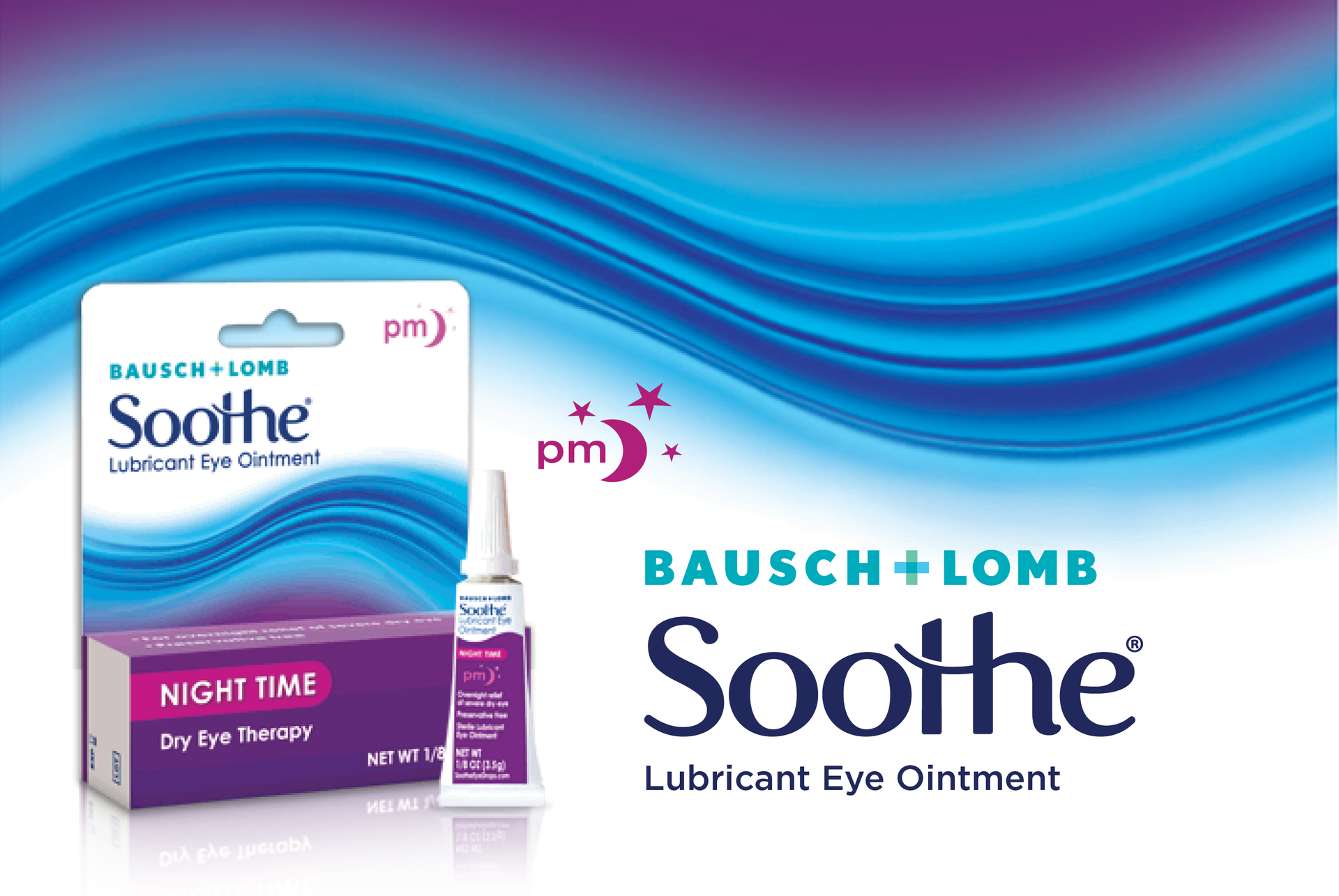 0a45d9b2993f Bausch + Lomb Soothe® Night Time Lubricant Eye Ointment provides overnight  relief of dry eye. The formula contains two lubricants to relieve dryness  of the ...