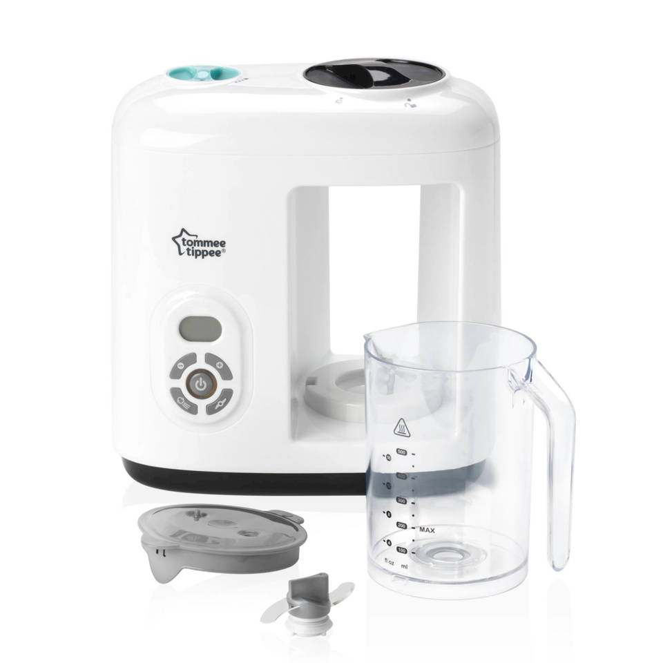Tommee Tippee Baby Food Steamer Blender George At Asda Safe Steam Cooker Product View Press Enter To Zoom In And Out