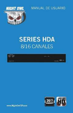 View HDA Series - Manual (Spanish) PDF