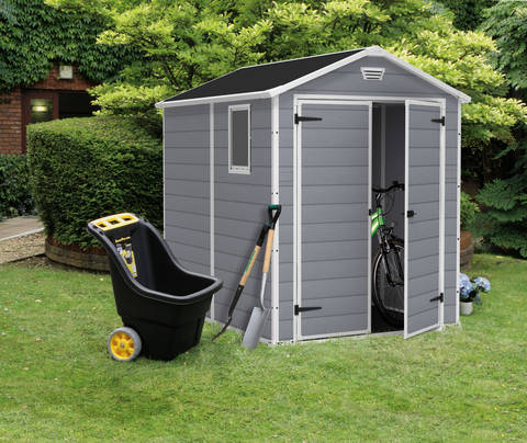 Frequently Asked Questions & Keter Manor 6u0027 x 8u0027 Resin Storage Shed; All Weather Plastic ...