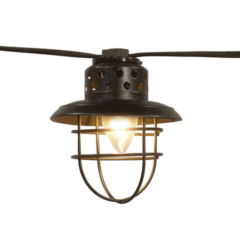 better homes and gardens lighting. brighten up your summer with these vintage cage lantern string lights better home u0026 garden have a beautiful soft glow homes and gardens lighting