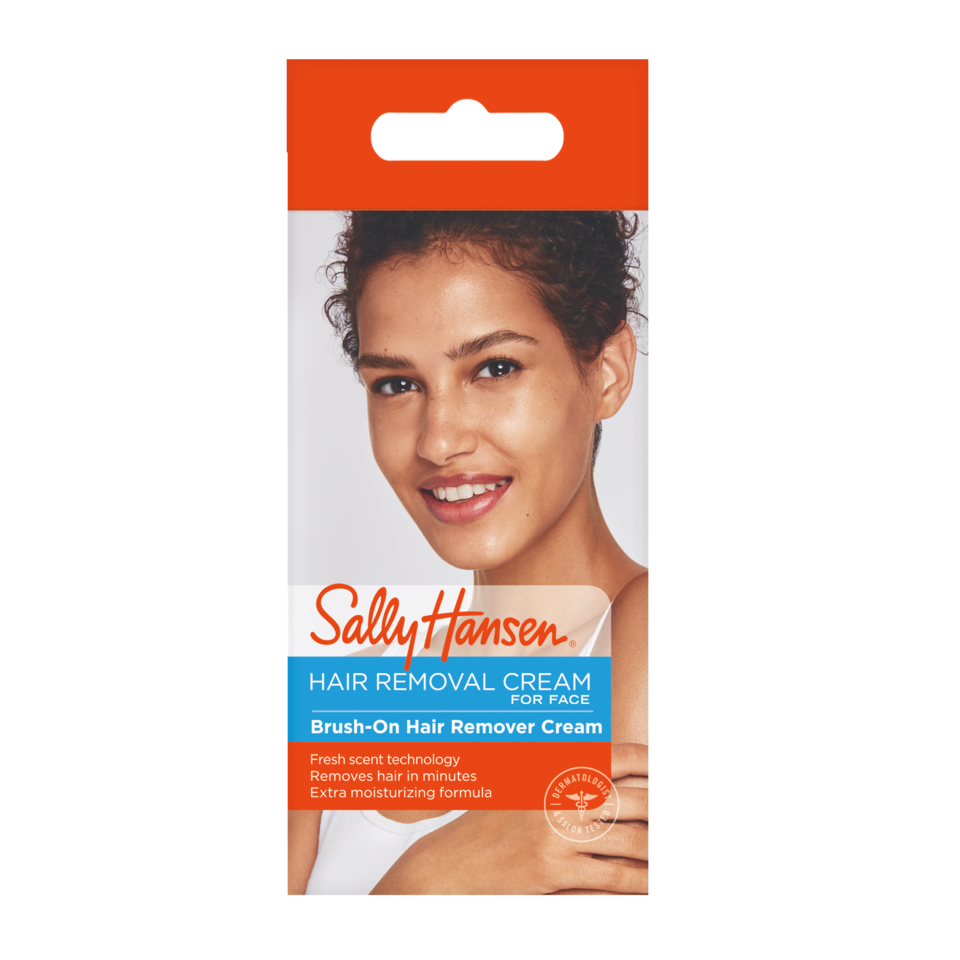 Sally Hansen Brush On Hair Remover Creme For Face 1 7 Oz