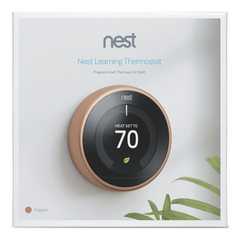 Nest Learning Thermostat, 3rd generation packaging