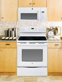 JVM6175DFWW over-the-range microwave oven featured in White.