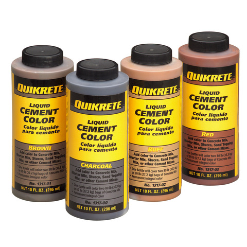 How To Build A Walkway And Add Quikrete Liquid Cement Color