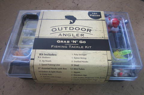 Anglers fishing tackle for Fishing kit walmart