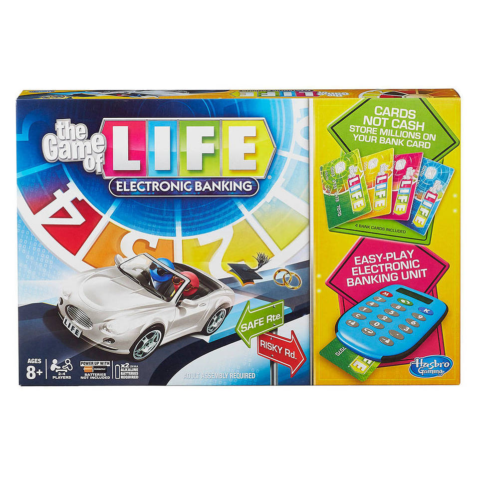 The Game Of Life Electronic Banking Game The Game Of Life