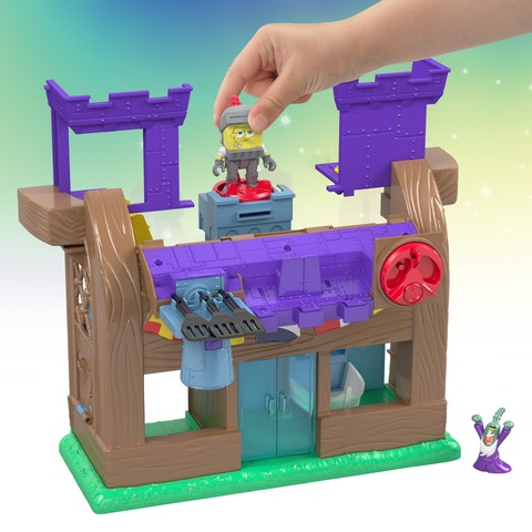 Spongebob Squarepants Imaginext Krusty Krab Kastle Set