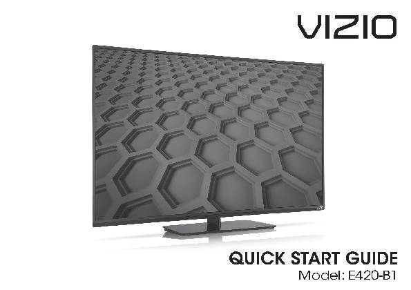 vizio e420-b1 42 1080p 60hz full-array led hdtv